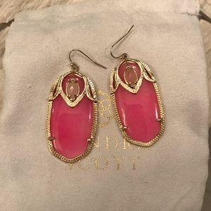 Kendra Scott Earrings   Rare Pink 💗